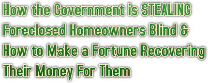 How the Government is STEALING 